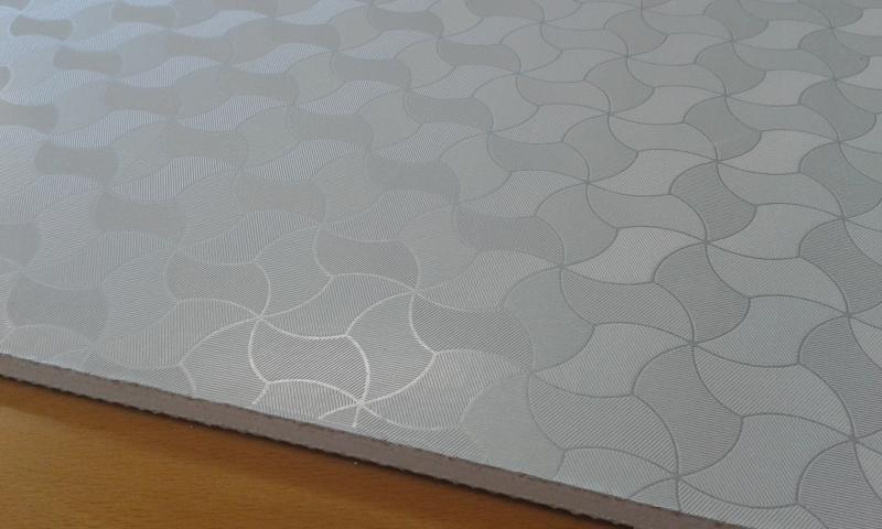 PVC'ga kaetud kipsplaat  60x60x0,8cm (elit)