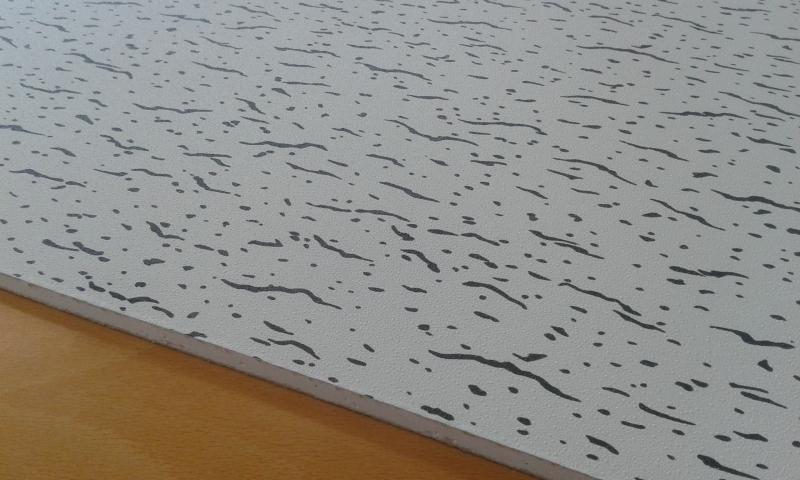 PVC'ga kaetud kipsplaat  60x60x0,8cm (kircilli)