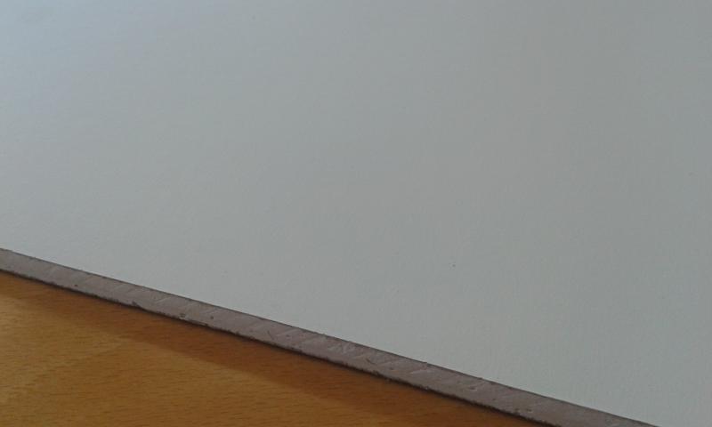 PVC'ga kaetud kipsplaat  60x60x0,8cm (hygene)