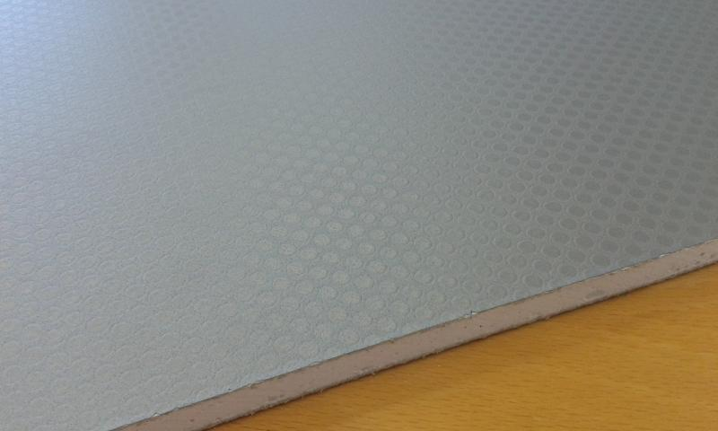 PVC'ga kaetud kipsplaat  60x60x0,8cm (hall)