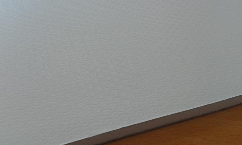 PVC'ga kaetud kipsplaat  60x60x0,8cm (valge)