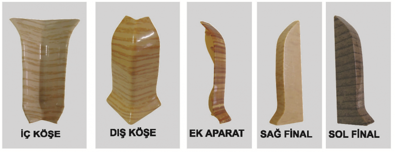 PVC Põrandaliistu sisenurk ( Yenice tamm )
