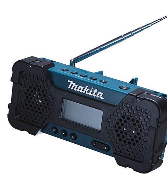 Raadio, töötab Makita akudega 10,8V, 2,5h