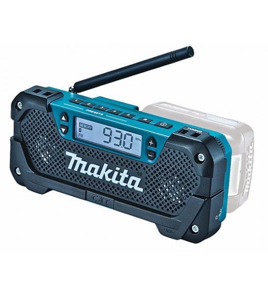 Raadio, töötab Makita akudega 10,8V CXT
