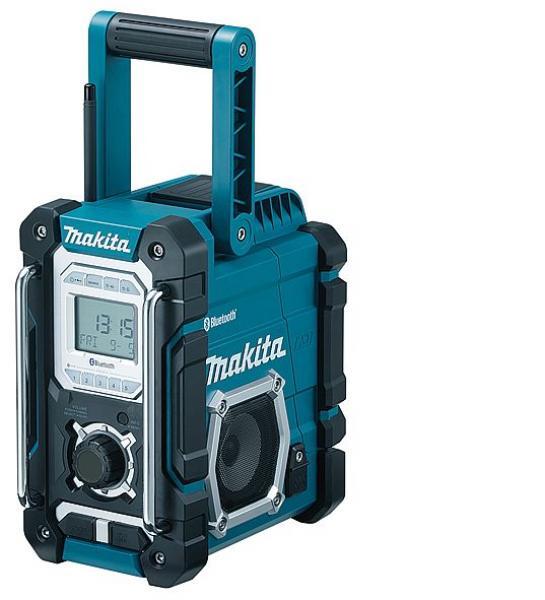 Raadio, töötab kõikide Makita akudega 7,2 - 18V, Bluetooth ja USB
