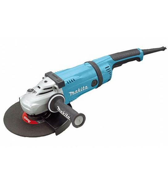 Nurklihvija 2600 W, 230 mm, 6,7 kg, pööratav tagumine käepide, vibratsiooni vähendav külgkäepide, SUPER FLANGE