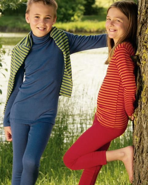 Children's vest long sleeved