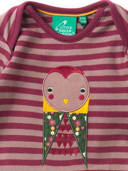 Midnight Owl Applique Playsuit
