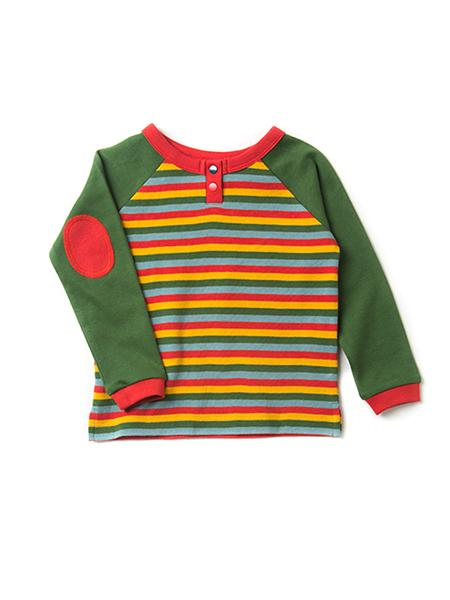 Autumn Rainbow Raglan T-shirt
