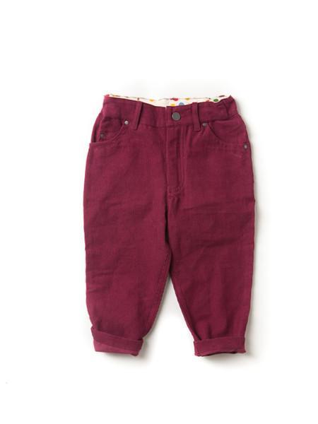 Berry Corduroy Jeans