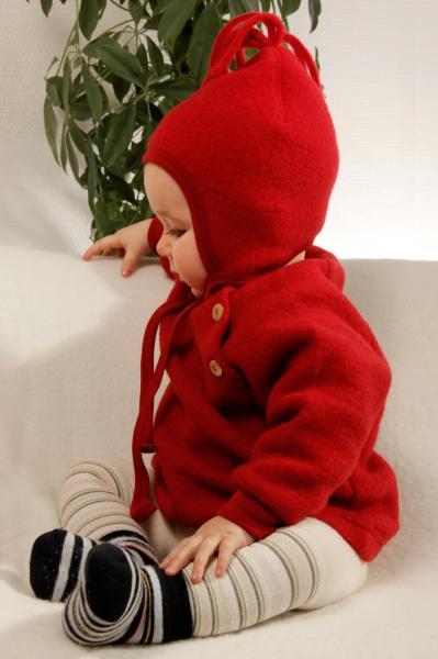 Villafliisist beebi müts tutiga, erinevad värvid
