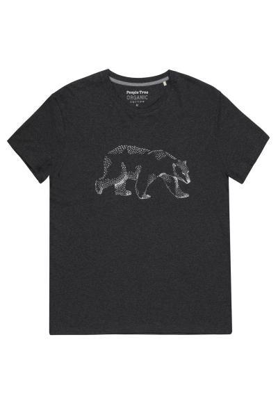 Jääkaruga hall T-särk