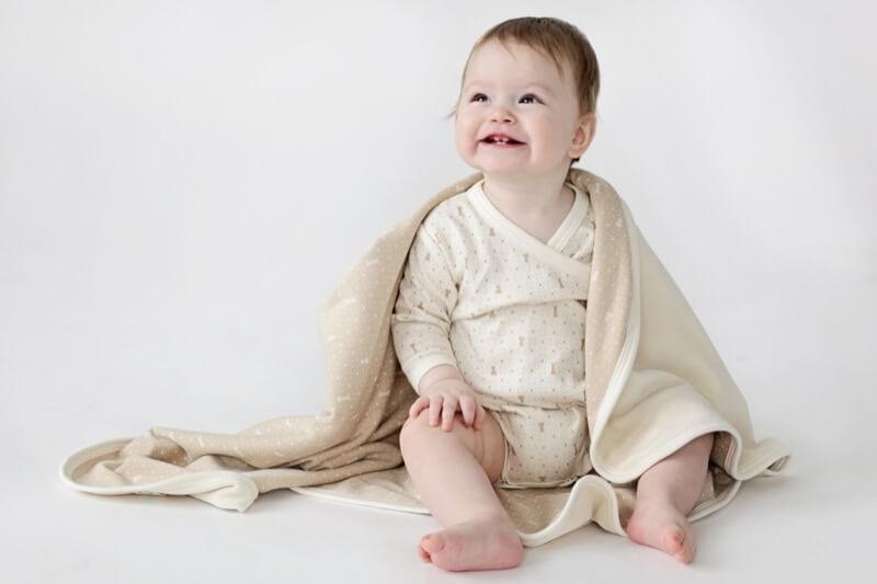Baby blanekt, brown