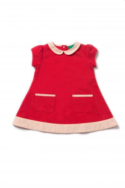 Pillar Box Red Tunic Dress