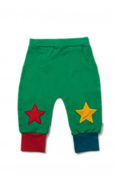 Rohelised tähekestega püksid