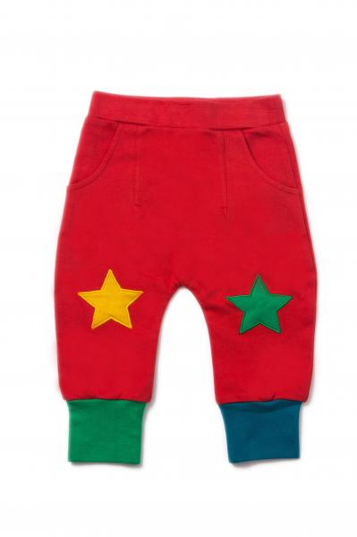 Pillar Box Red Star Joggers