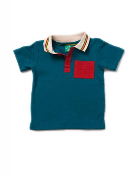 Beach Ball Blue Polo