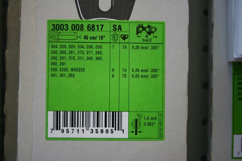 Juhtplaat 18'' 325 1,6mm 45cm