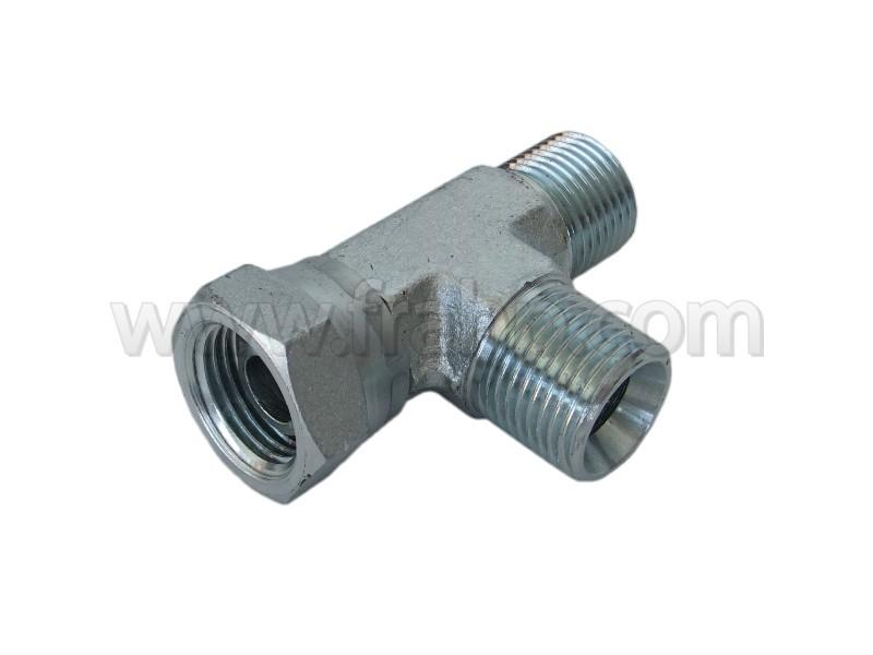 Run T Connector BSP Swivel Female 1/2