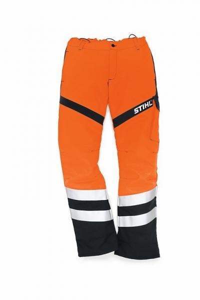Võsalõikaja püksid FS Protect471 teetöölistele (oranž reflektor)