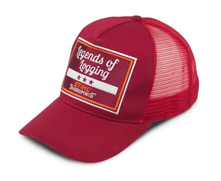 Rekkamehe müts veinipunane STIHL Timbersports