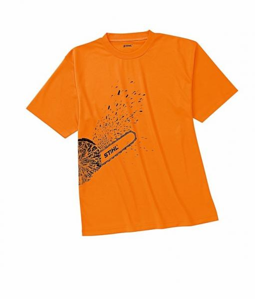 Särk DYNAMIC oranz mootorsae logoga