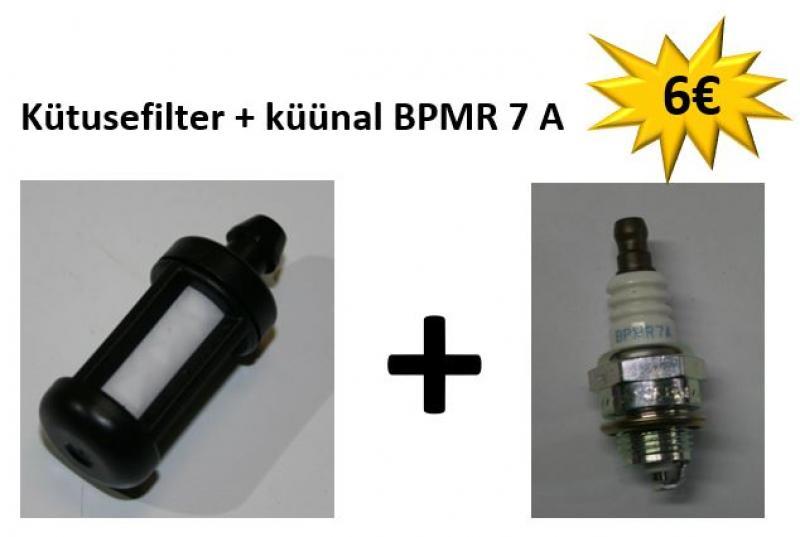 STIHL Mootorsaele: Kütusefilter + küünal BPMR 7 A