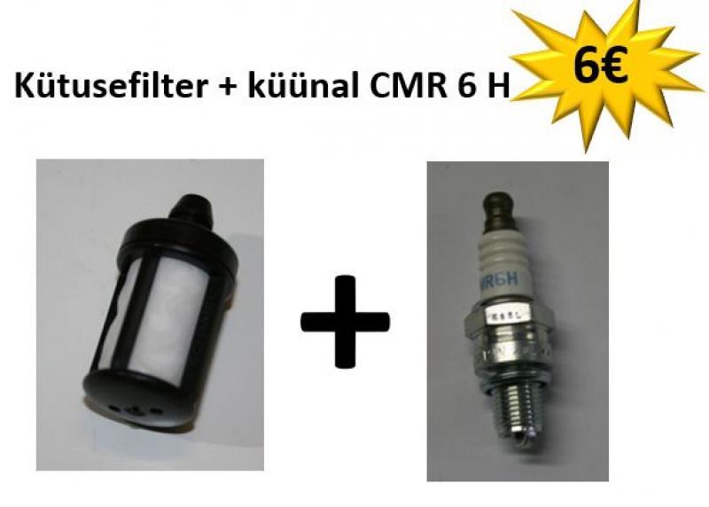 STIHL Mootorsaele: Kütusefilter + küünal CMR 6 H
