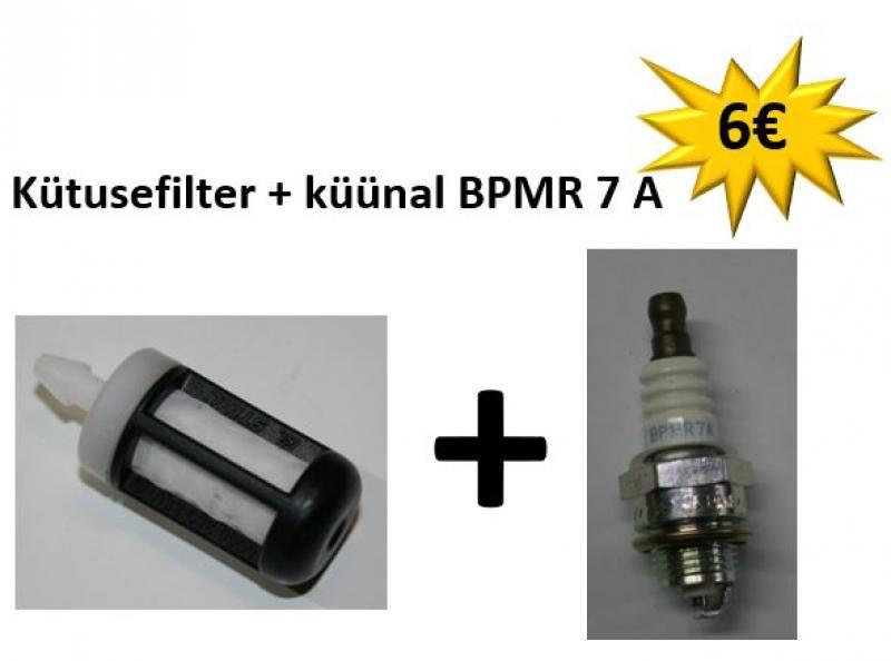 STIHL Võsasaele: Kütusefilter + küünal BPMR 7 A