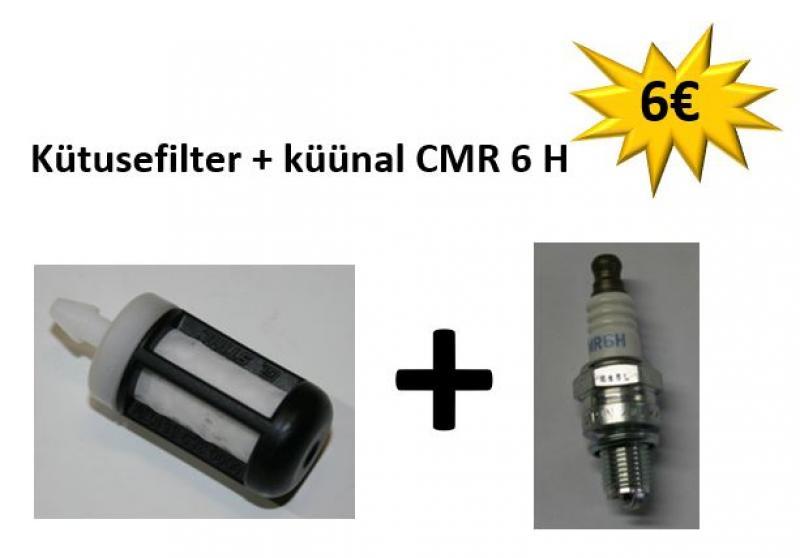 STIHL Võsasaele: Kütusefilter + küünal CMR 6 H