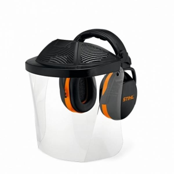 Kaitsevisiir STIHL poly klaasiga kõrvaklappidega