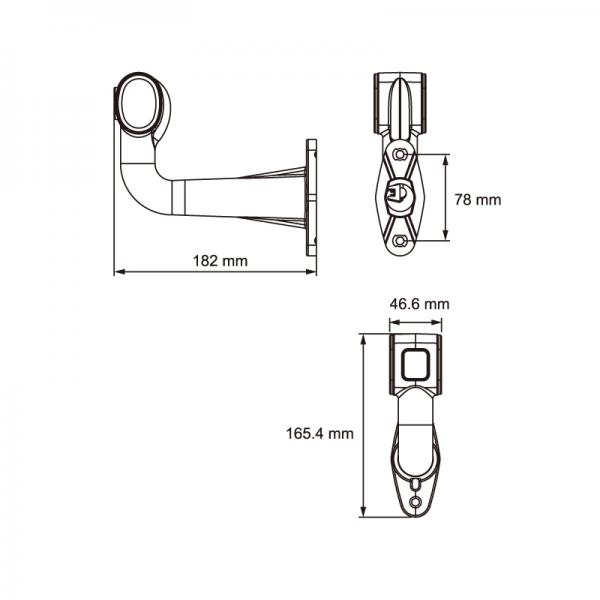 led end outline marker lamp   lucidity europe led lights for trucks and trailers