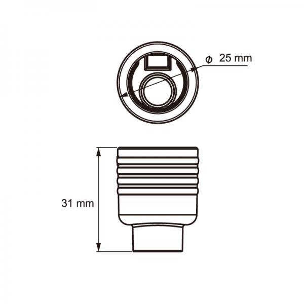 7-Pole Female Connector Set