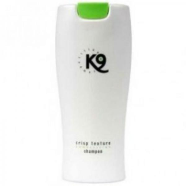 K9 Crisp Texture karmikarvaliste koerte šampoon, 300 ml