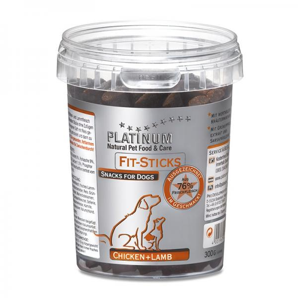 Platinum Fit-Sticks kana+lammas 300 g