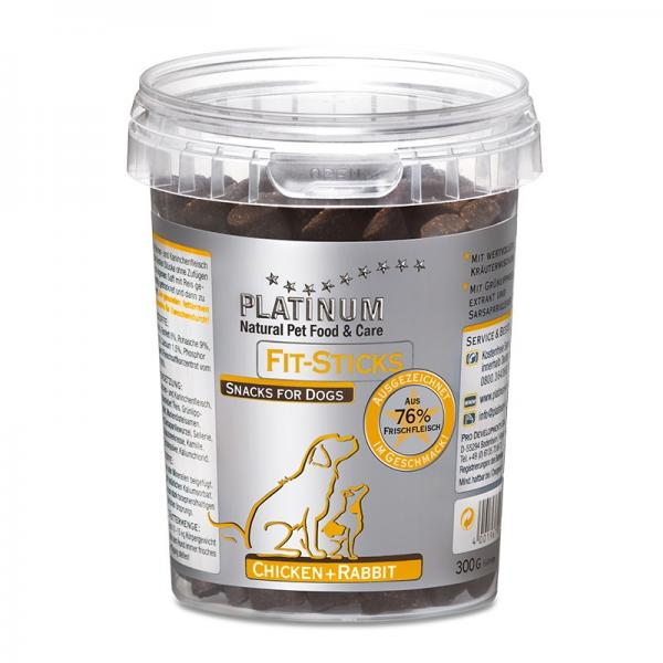 Platinum Fit-Sticks kana+jänes 300g