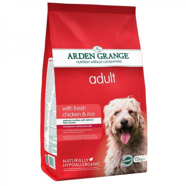 Arden Grange koeratoit kanaliha ja riisiga