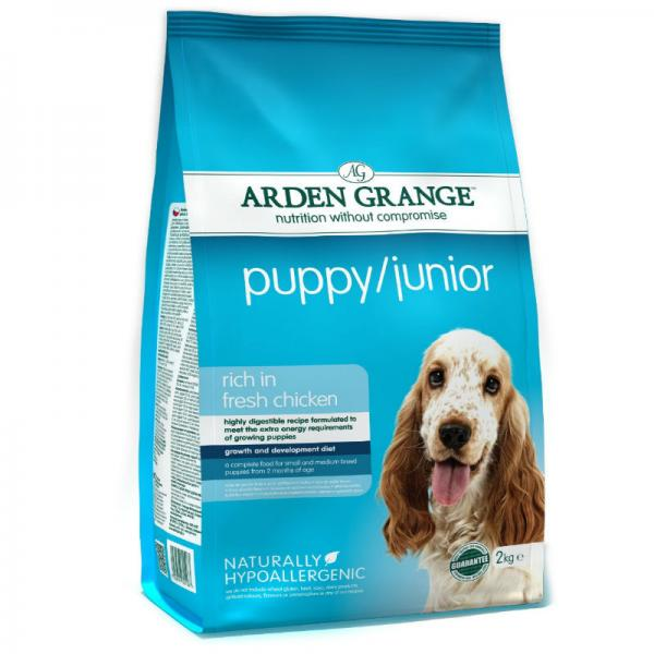 Arden Grange koeratoit Puppy/Junior
