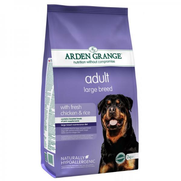 Arden Grange koeratoit suurele tõule kanalihaga