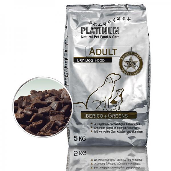 Platinum Adult koeratoit iberico ja juurviljaga