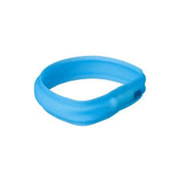 Trixie USB vilkuv kaelarihm -  sinine