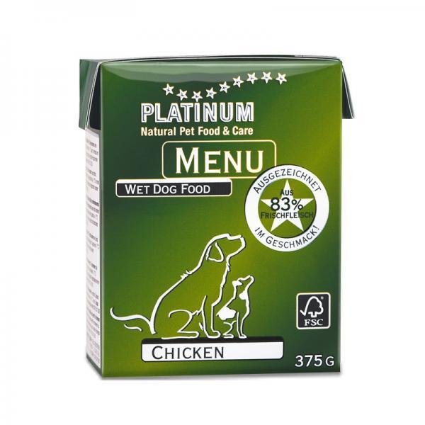 Platinum Menu konserv kanaga 375 g