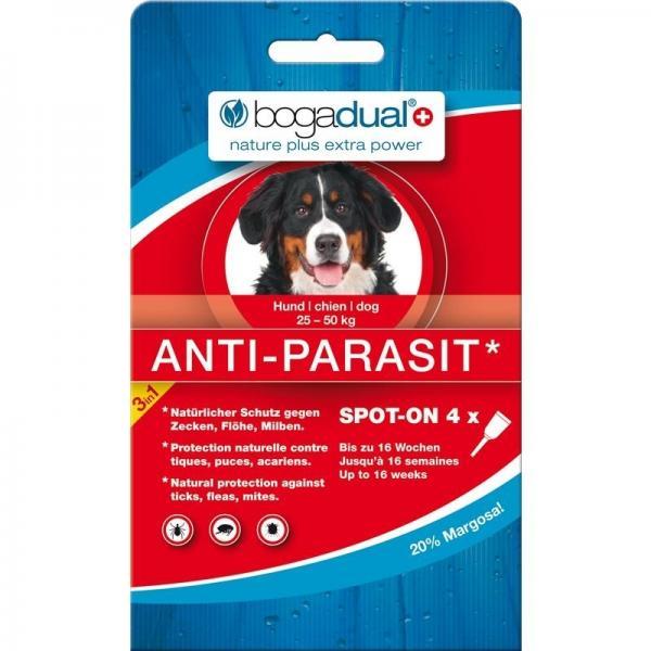 Bogadual Anti-Parasit täpilahus 20-50kg