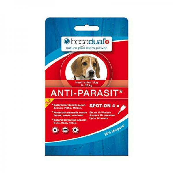 Bogadual Anti-Parasit täpilahus 5-25kg