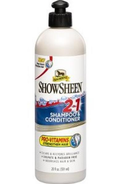 Absorbine Showsheen shampoo&conditioner