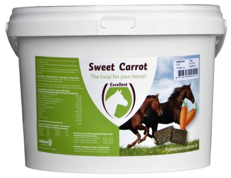 Sweet Carrot blocks 3kg