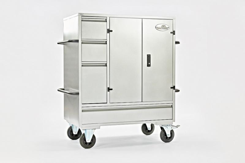 Alfako Midi Steel saddle box