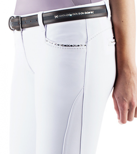 Animo naiste valged püksid Nallo