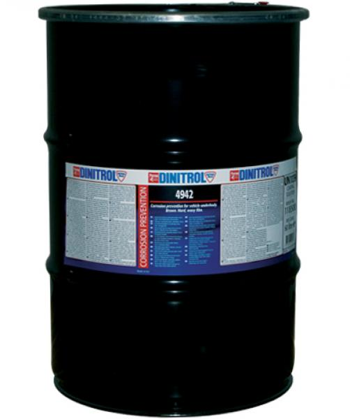 Мастика для защиты днища Dinitrol  4942 60л / коричневый