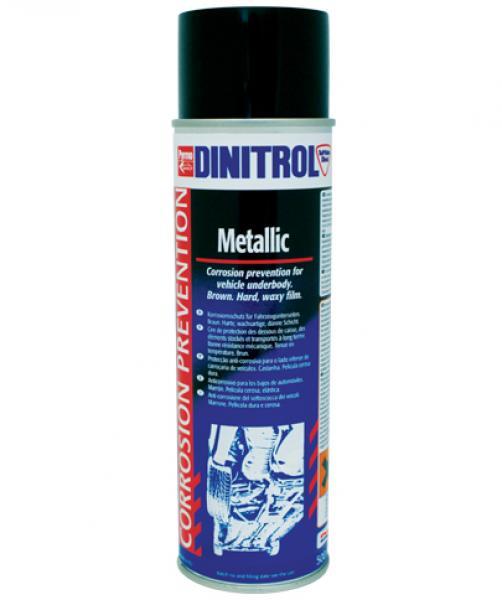Армированный воск металлик  Dinitrol Metallic  500мл / аэрозоль